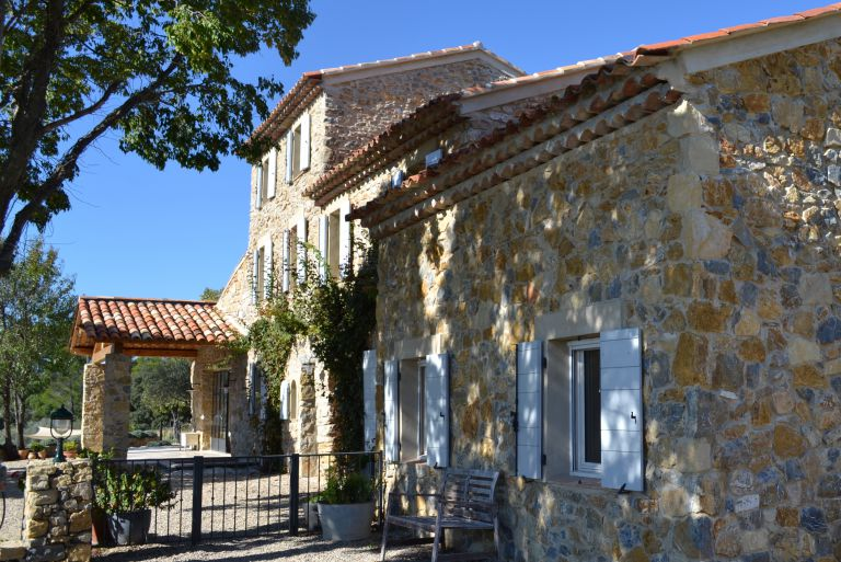Restored Bastide with guest house